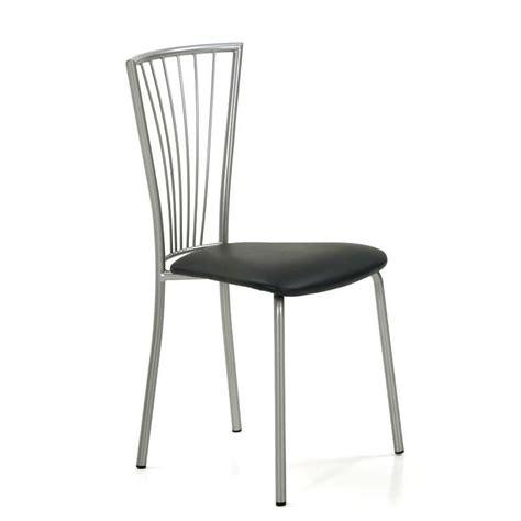 chaise de cuisine pivotante chaise de cuisine en synthétique et métal 4 pieds