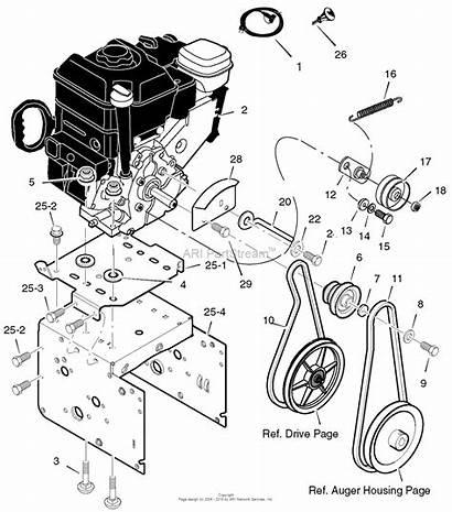 Craftsman 536 Snow Parts Thrower Murray Engine