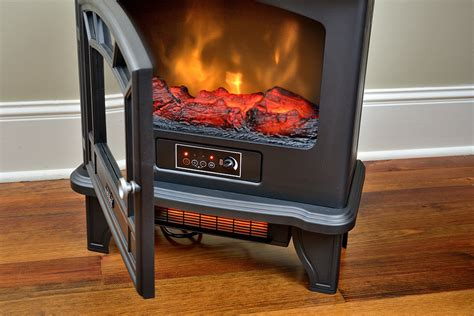 duraflame  black infrared freestanding electric
