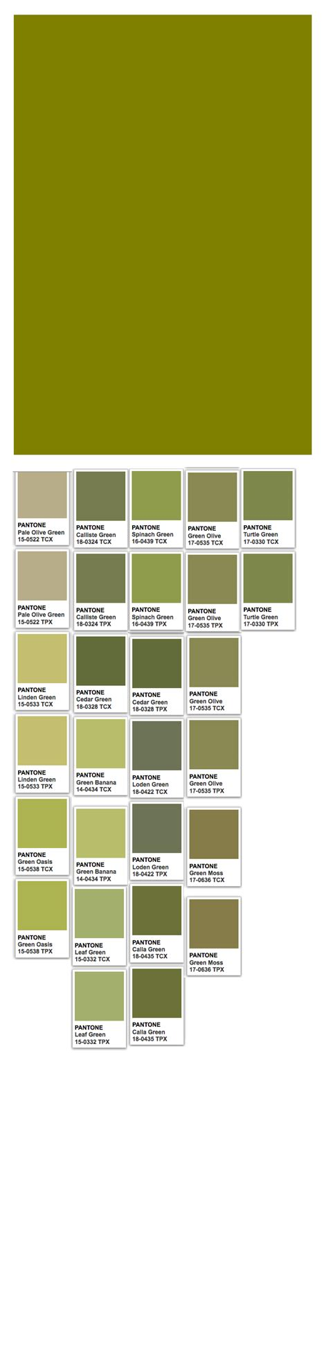olive web and pantone colors color thesaurus color wheels and information olive green