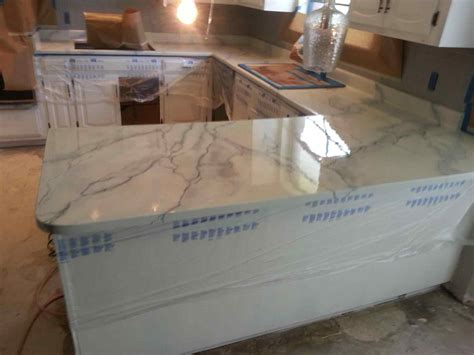 Painting Laminate Countertops To Look Like Marble