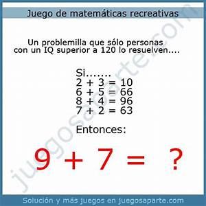 Juego de matemáticas recreativas