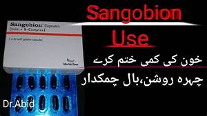 Sangobion Capsules Benefits Uses Side Effects The Mineral And Vitamins Supplement