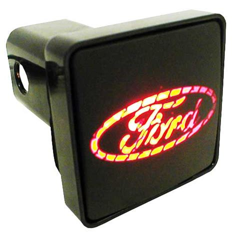lighted hitch cover pilot automotive cr007f ford hitch cover led hitch cover