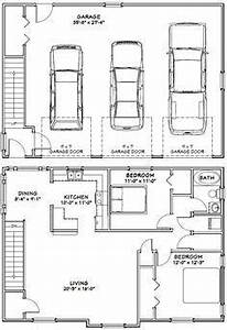 40x28 3-Car Garage -- #40X28G9 -- 1,146 sq ft - Excellent