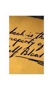 Image - Property of the Half-Blood Prince.jpg | Harry ...