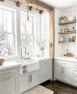 We, Love, This, White, Farmhouse, Kitchen, Ud83d, Ude0d, What, Do, You, Think, It, Looks, So, Relaxing, And, Simple