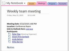Microsoft OneNote gets the message, and the meeting too