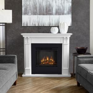 real flame ashley   electric fireplace  white