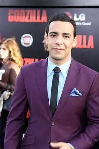 Victor Rasuk at the Los Angeles Premiere of GODZILLA ...