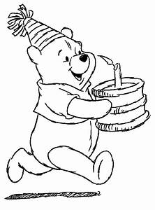Animations A 2 Z - Coloring pages of Winnie the Pooh