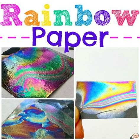 color science rainbow paper experiment color science for