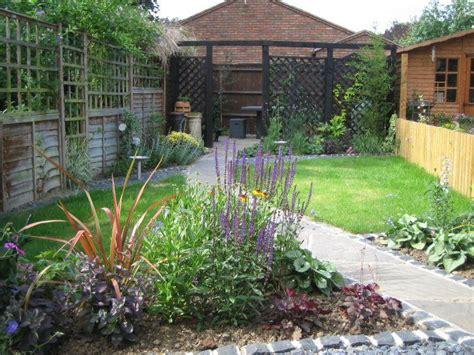 long thin garden ideas images  pinterest