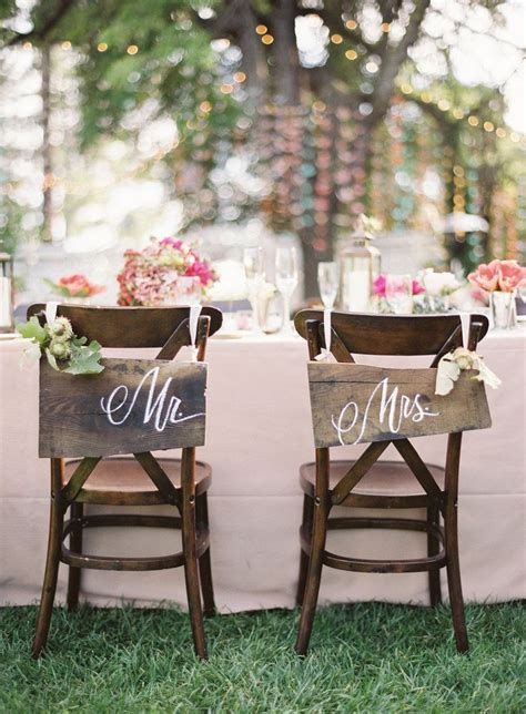 this mr and mrs chair signage weddings chair