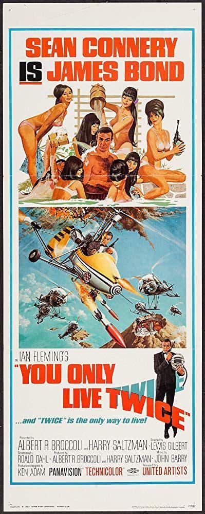 You Only Live Twice (1967) - IMDb | James bond movie ...