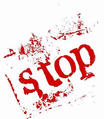 Stop Transparent Word Grunge Onlygfx Px 2531