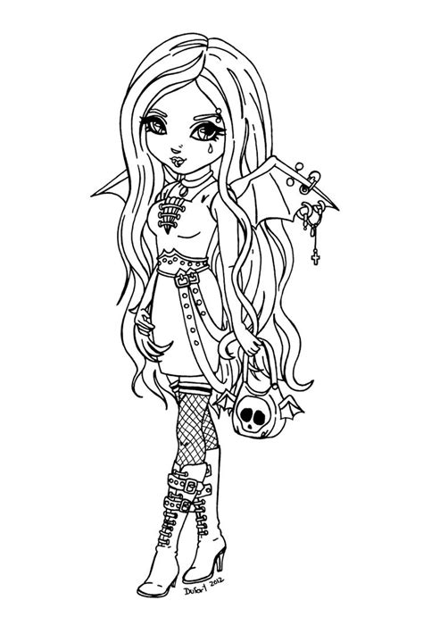 anime vampire coloring pages  getcoloringscom  printable colorings pages  print  color