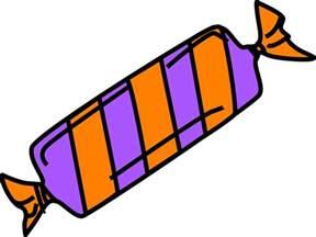 Cartoon Candy Wrapper Clip Art