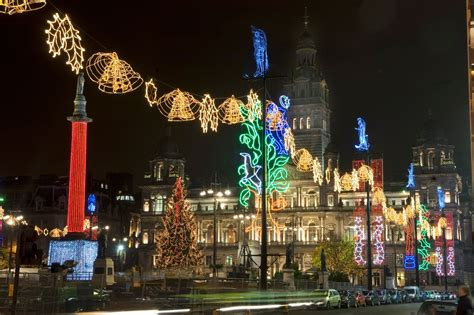 in pictures things to do in glasgow this christmas