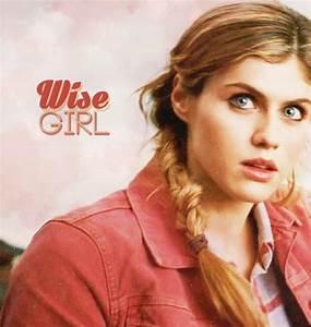 Alexandra Daddario as Annabeth Chase, Percy Jackson: The ...