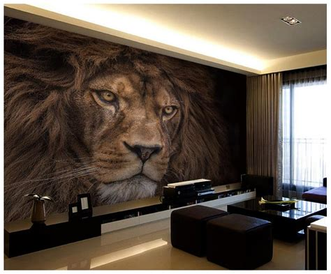 wallpaper custom  murals wallpaper animals wall paper