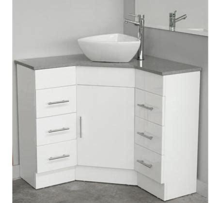 corner vanity caesarstone top mm  photo bathroomware
