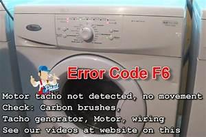 Bauknecht Waschmaschine Reset : whirlpool awo d awd series washing machine error fault codes ~ Frokenaadalensverden.com Haus und Dekorationen