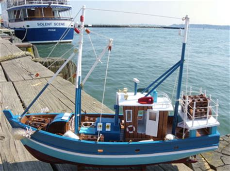 model fishing boats including trawlers fifies  crab