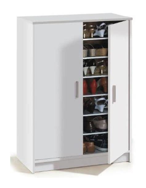 chaussures de securite cuisine armoire à chaussures adel avec 2 portes et 6 étageres 30