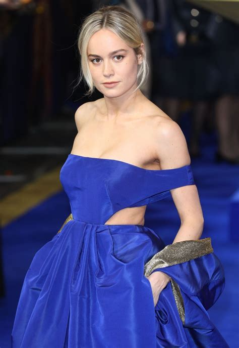 Brie Larson Captain Marvel Premiere London