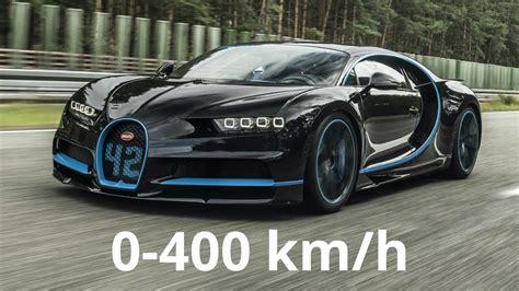 Bugatti Chiron 0 400 Km H Acceleration Youtube