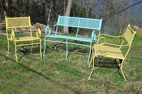 trash to treasure refinish patio furniture factory
