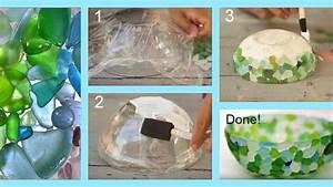 How, To, Make, A, Dazzling, Diy, Sea, Glass, Bowl