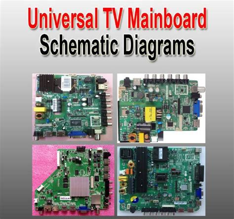 universal lcdled tv controller boards schematic diagrams