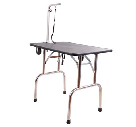 grooming table for sale portable folding pet grooming table aosom ca
