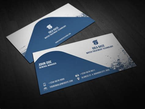 business card templates ai pages word design