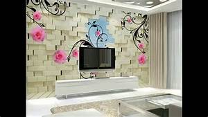 3D landscape wallpaper t.v. Units wallpaper design#2