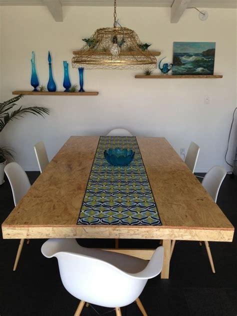 Diy Osb Table Top Light Fixture Dining Areas I