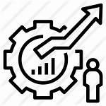 Development Icon Icons Growth Optimisation Cumulatively Premium