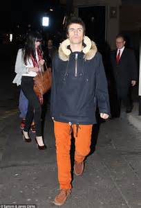 Liam Gallagher heads home with girlfriend after indulgent ...
