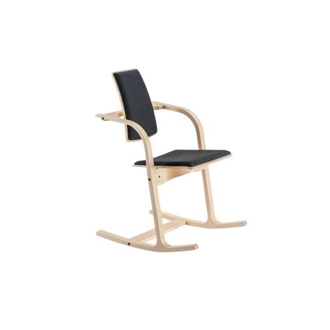 fauteuil bureau bois fauteuil de bureau ergonomique en tissu et bois actulum