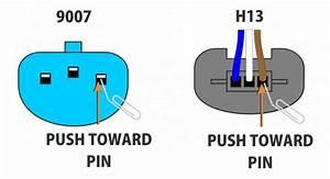 9007 Headlight Bulb Wiring Diagram