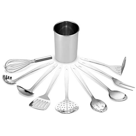 10 Stylish Aluminium Stainless Steel Kitchen Designs by Finedine Premium Stylish 10 Kitchen Utensil Set