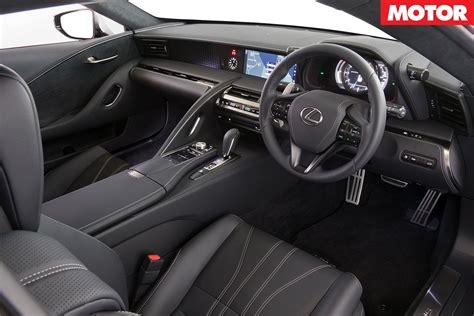 lexus lc interior 2018 lexus lc 500 review motor