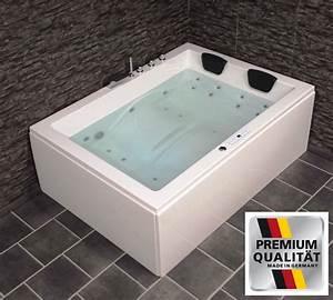 Whirlpool Badewanne Für 2 Personen : doppel whirlpool badewanne rechts mit ozon heizung ~ Pilothousefishingboats.com Haus und Dekorationen