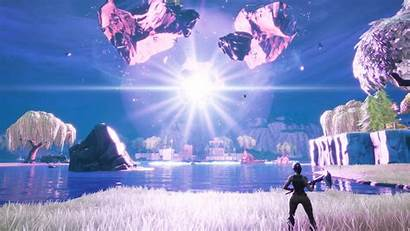 Event Fortnite Cube Kevin Exploded Butterfly Wallpapers