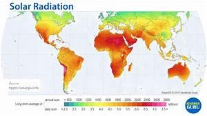รังสีจากดวงอาทิตย์ (Solar Radiation) - iEnergyGuru