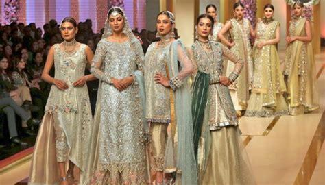 parade gaun pengantin  pakistan fashion design bridal