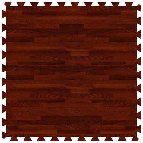 foam tile flooring home depot brava foam rubber tiles woodgrain collection nutmeg
