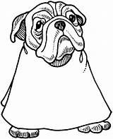 Coloring Bulldog Barber Barbershop Going Printable Getcolorings sketch template